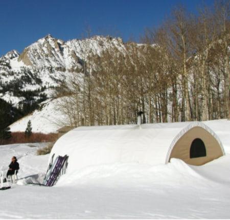 North Lake Ski Hut